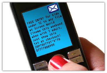 text coupons