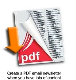 Put lots of content into a PDF